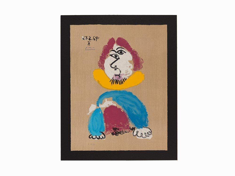 Picasso (after), Lithograph, Portraits Imaginaire, 1969
