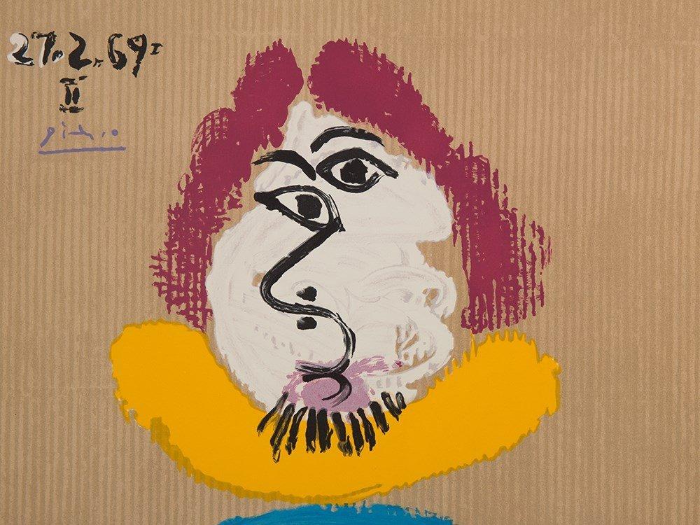 Picasso (after), Lithograph, Portraits Imaginaire, 1969 - 2