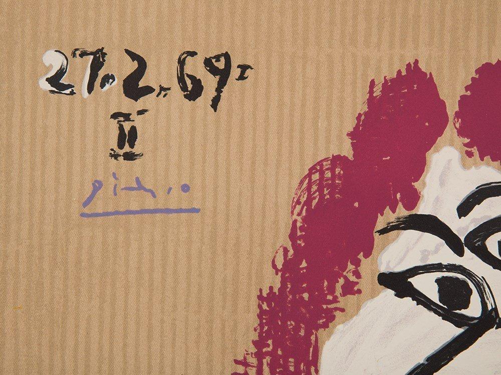 Picasso (after), Lithograph, Portraits Imaginaire, 1969 - 4