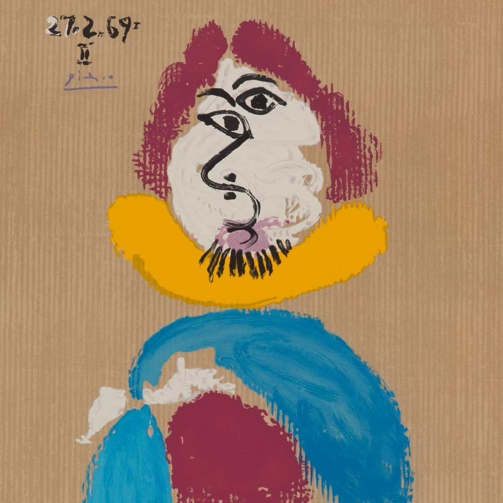 Picasso (after), Lithograph, Portraits Imaginaire, 1969 - 7