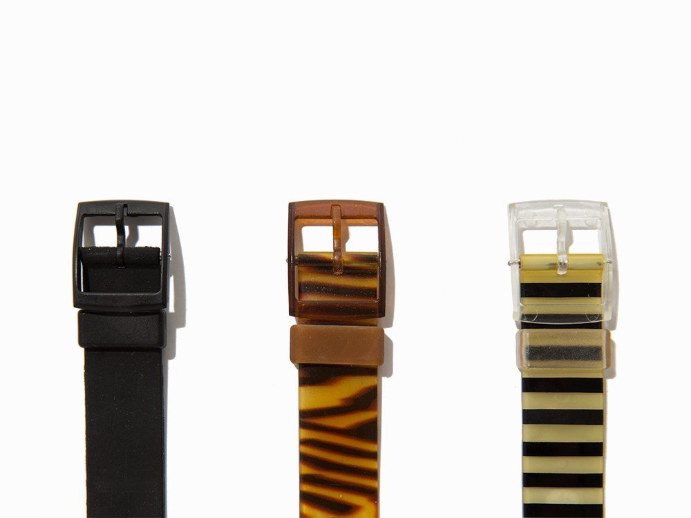 Collection of Six Swatch Wristwatches, c. 1985 - 4