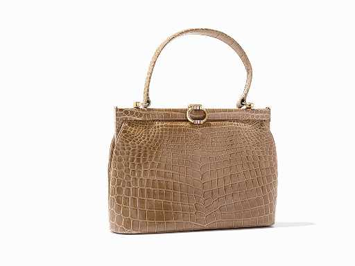 ee90273e2385 Gucci, Vintage Crocodile Evening Bag, Italy, ca.1960