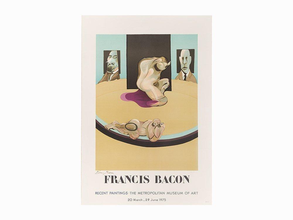 Francis Bacon, Lithograph, Metropolitan Museum of Art,