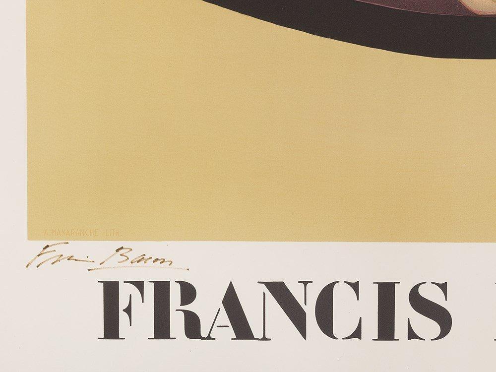 Francis Bacon, Lithograph, Metropolitan Museum of Art, - 2