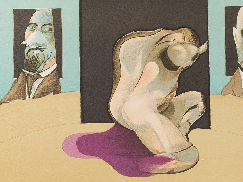 Francis Bacon, Lithograph, Metropolitan Museum of Art, - 4