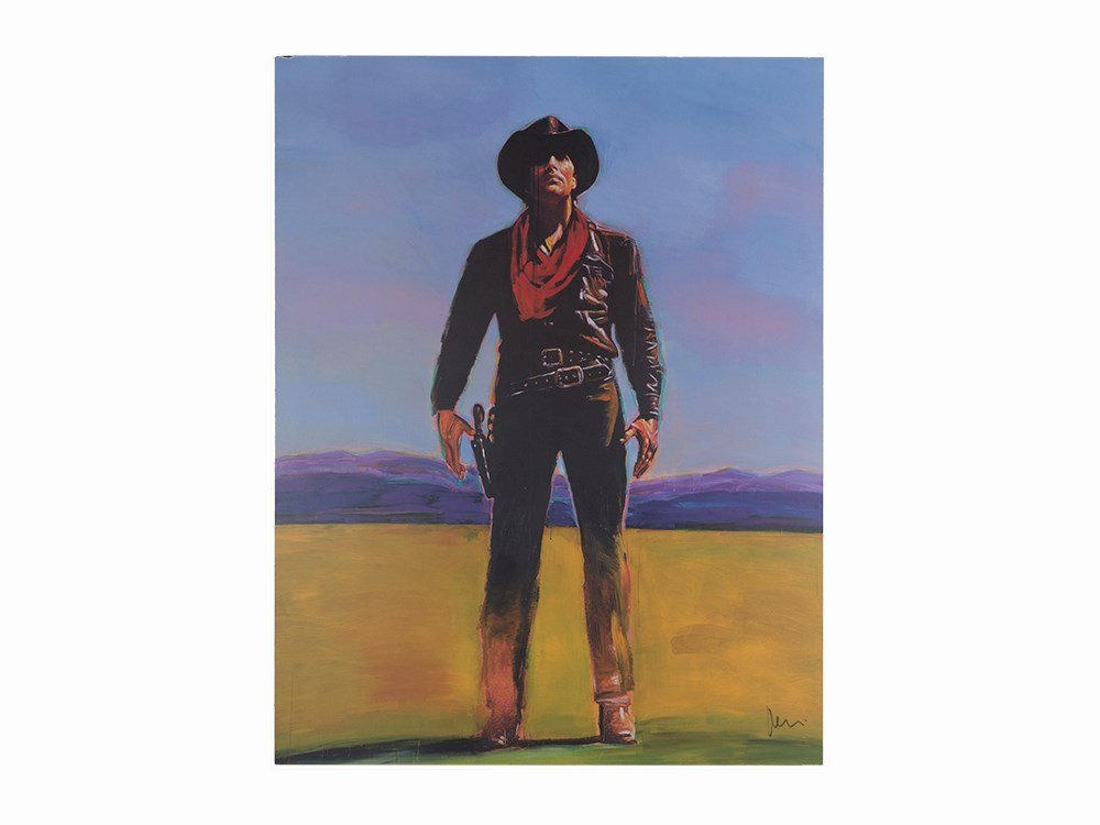 Richard Prince, Untitled (Cowboy), Offset Lithograph,