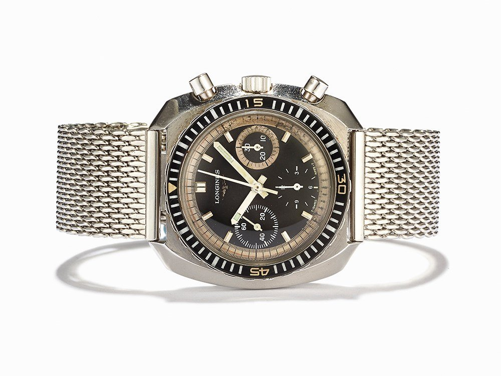 Longines Divers Chronograph, Ref. 8229-1, Switzerland,