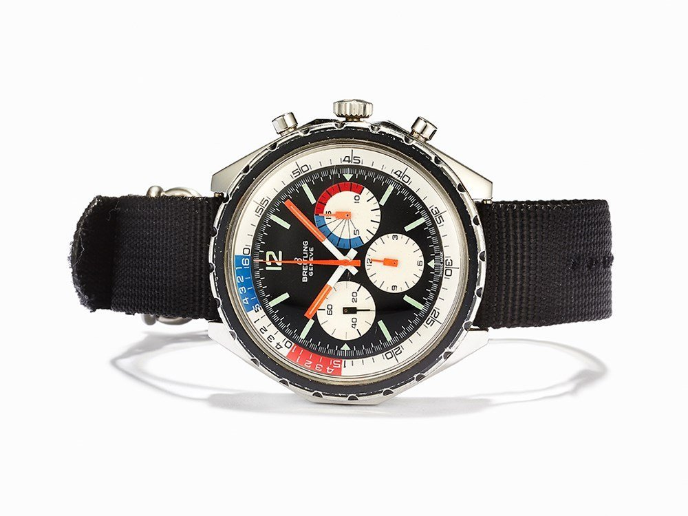 Breitling Co-Pilot Yachting Chronograph, Ref. 7652, c.