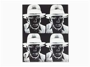 Andy Warhol, 'Joseph Beuys', Screenprint, 1980/1983