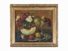 Mikhail Dmitrievich Yankov, Still Life With Fruit,