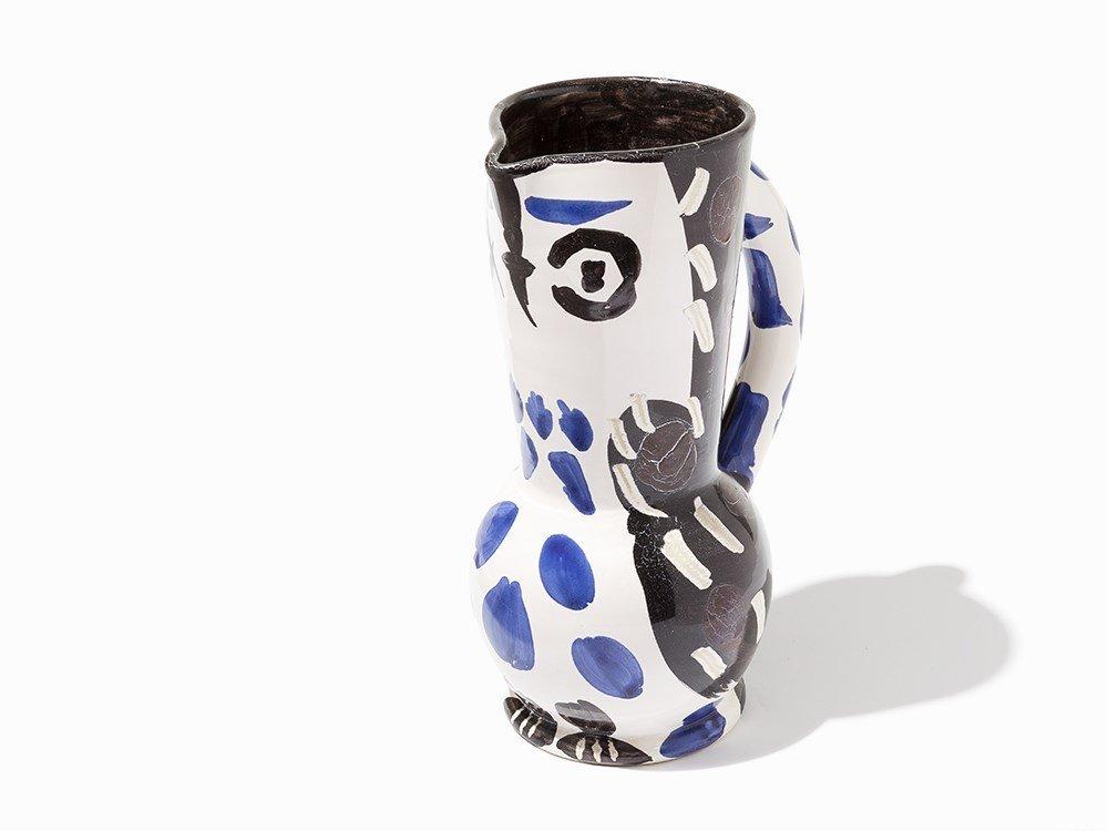 Pablo Picasso, 'Cruchon hibou', Ceramic Pitcher, 1955