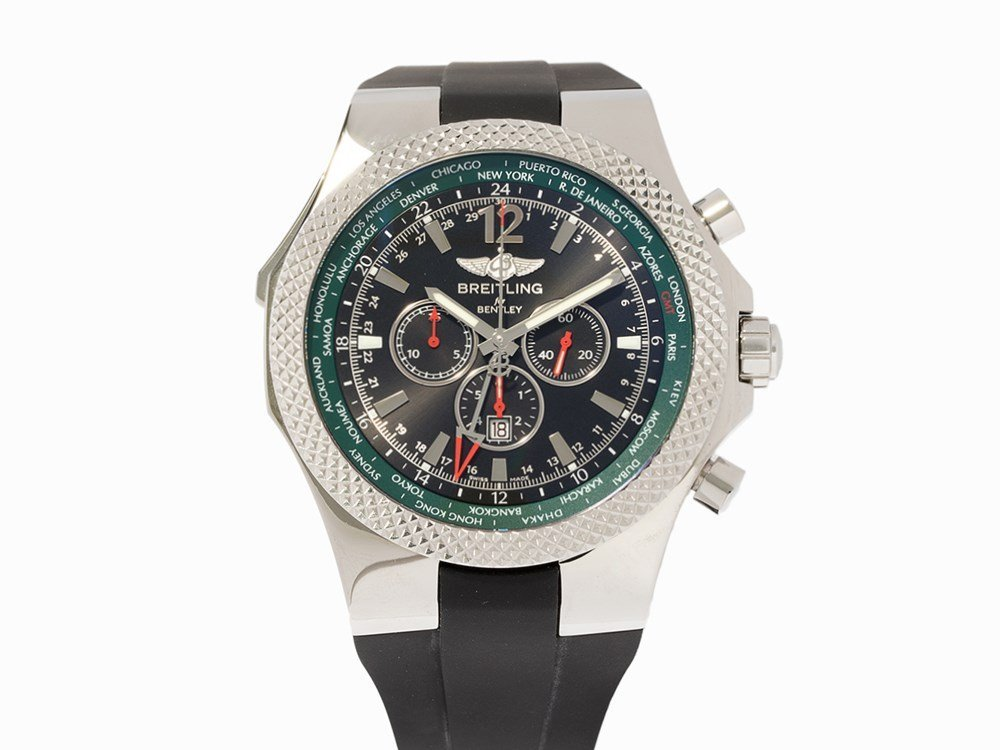 Breitling for Bentley GMT LE 394/1000, Ref. 4736254,