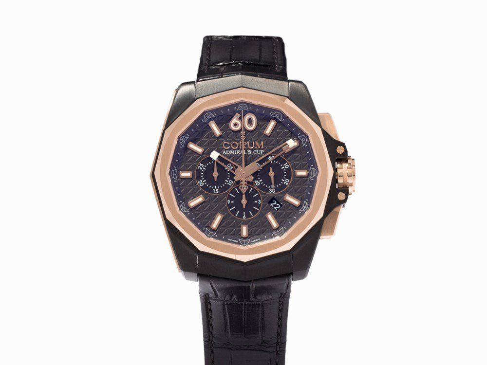 Corum Admiral's Cup AC-ONE 45 Chrono, Ref. 132.201.86,