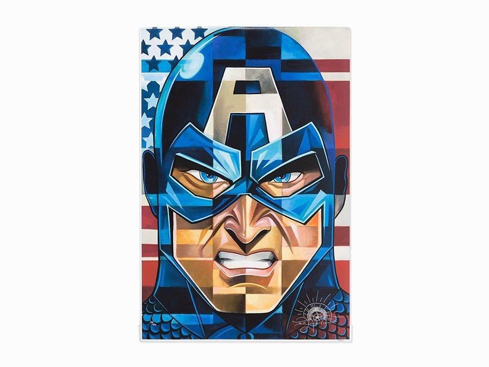 Tim Rogerson, Marvel's Captain America, C. 2010
