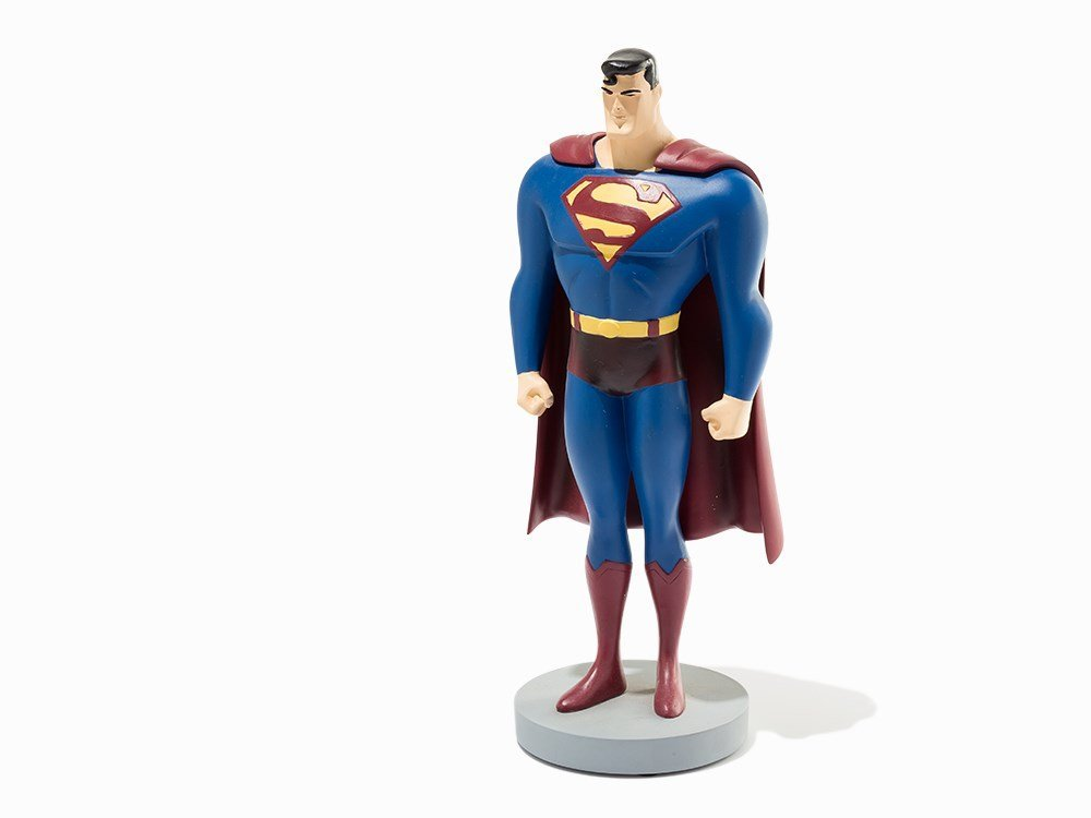 Original Hand Painted Sculpted Superman Maquette