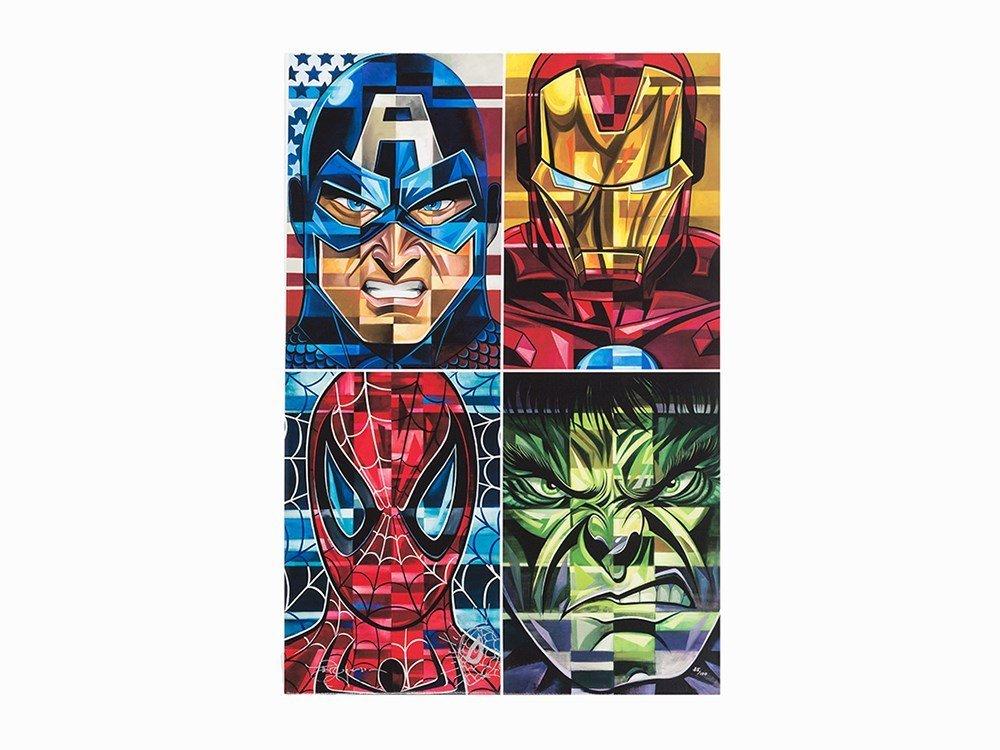 Tim Rogerson, Marvel's Avenger Heroes, C. 2010
