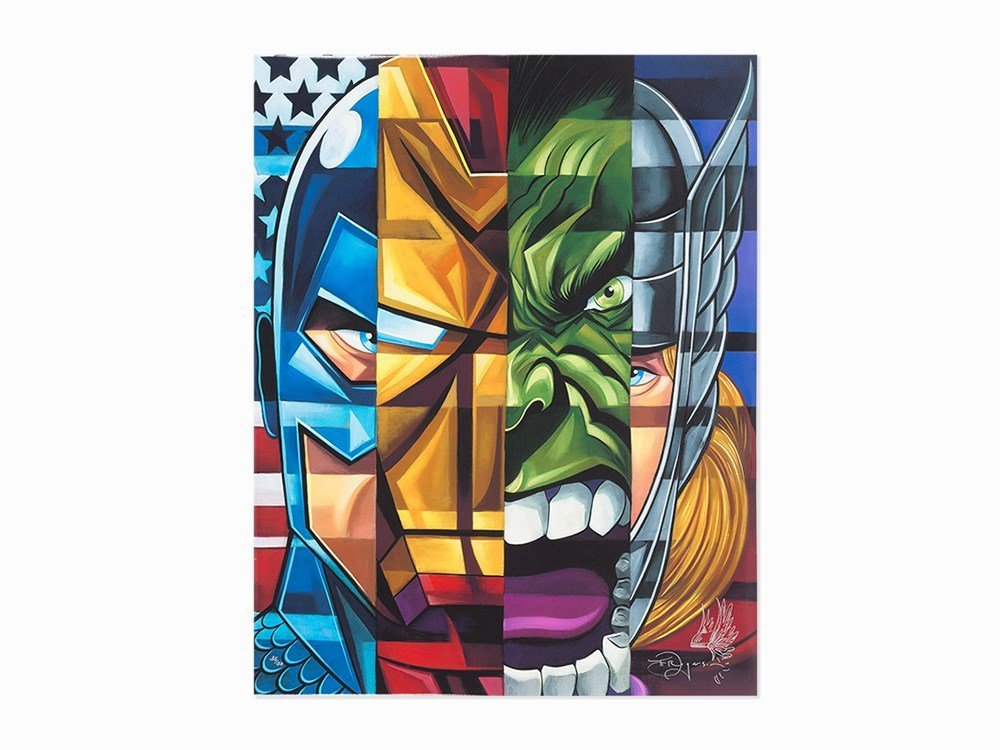 Tim Rogerson, Marvel's Avengers, Archival Pigment Ink
