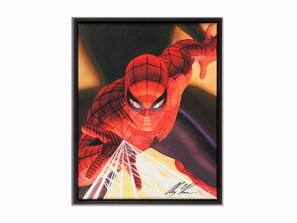 Alex Ross, Visions of Vision Spider-Man, Giclée on