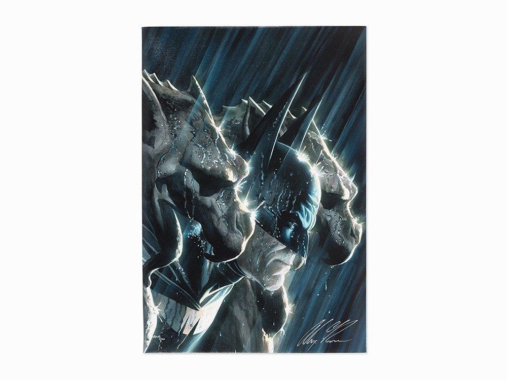 Alex Ross, DC Comic's Batman and Gargoyles, C. 2010