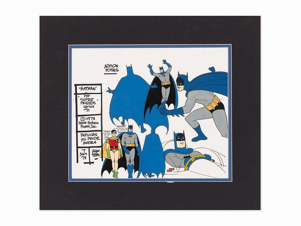 Hanna-Barbera, Batman, Super Friends Series 71, Model