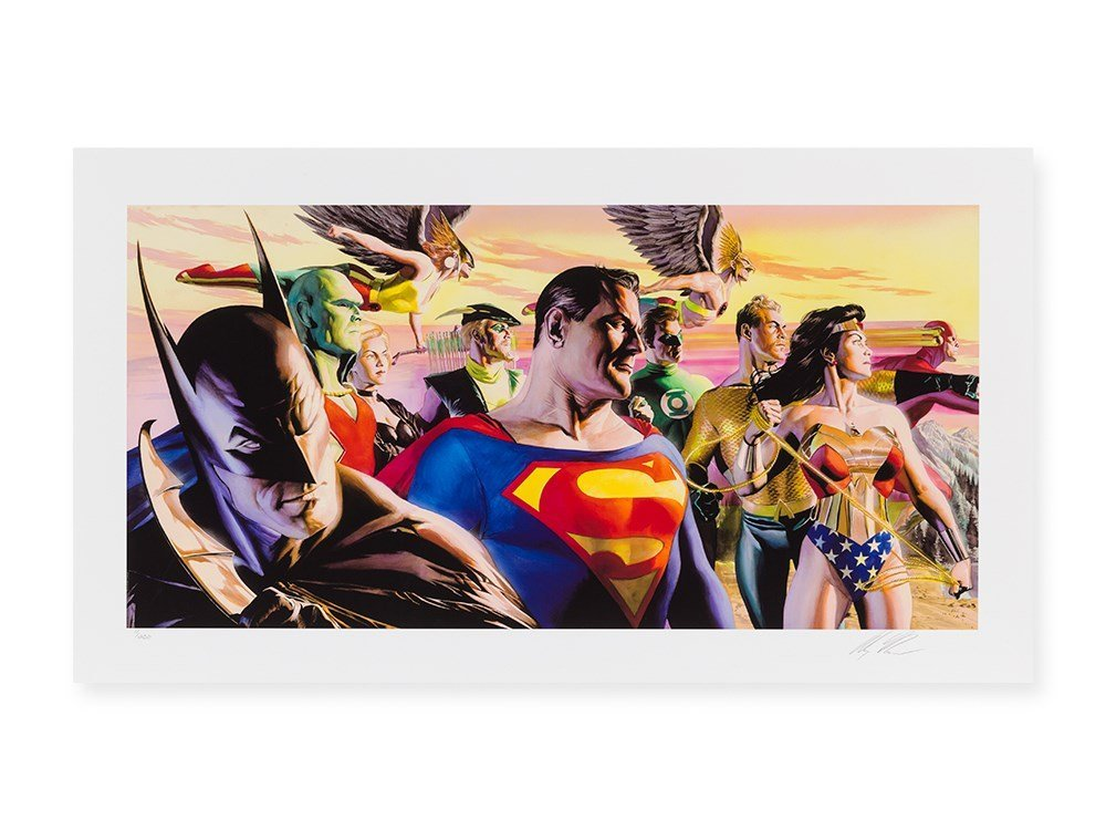 Alex Ross, Marvel Studios, In The Light of Justice, C.