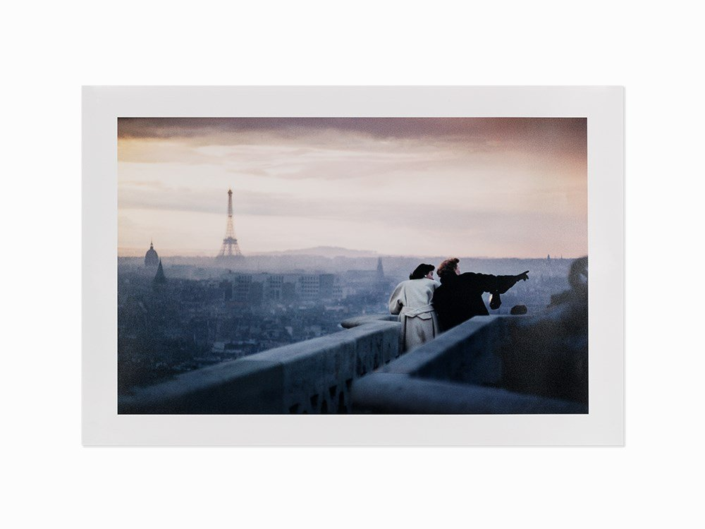 Ernst Haas, View From Notre Dame, Paris, France,