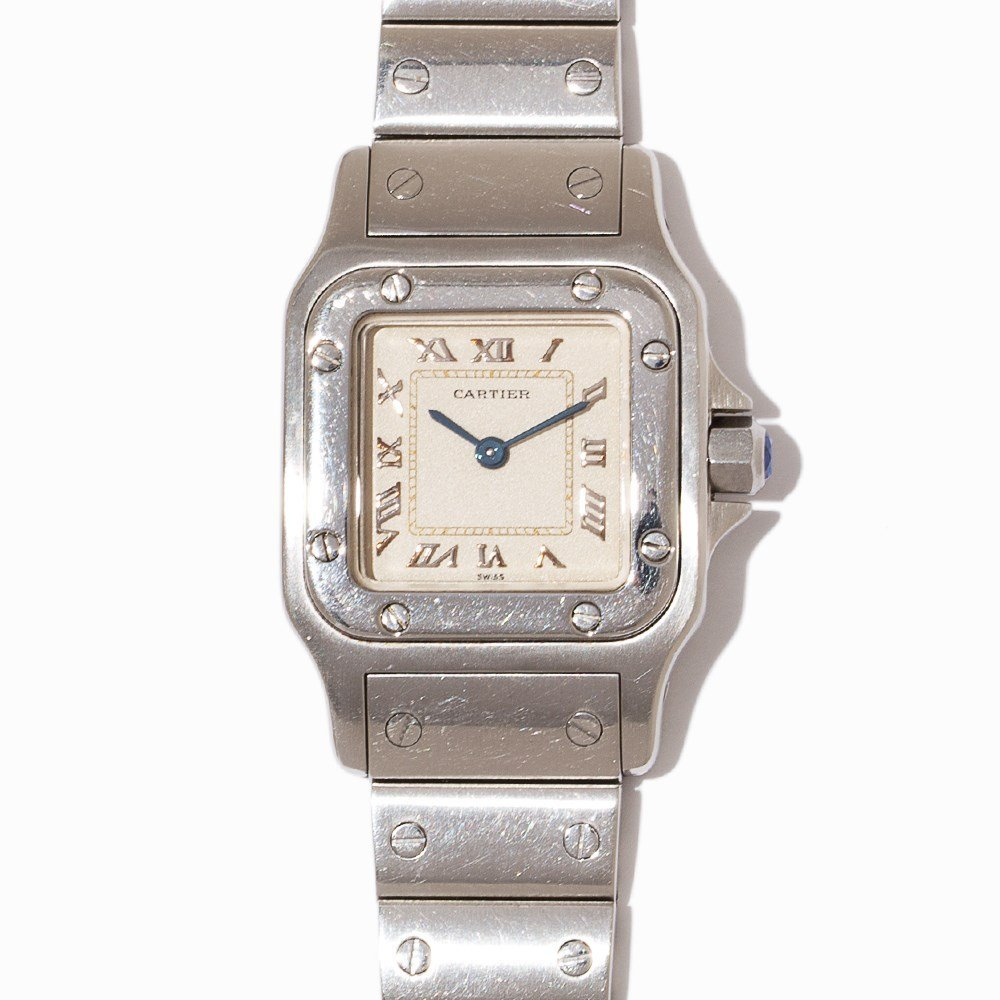 Cartier Santos Ladies Watch, Ref. W20024D6, - 7