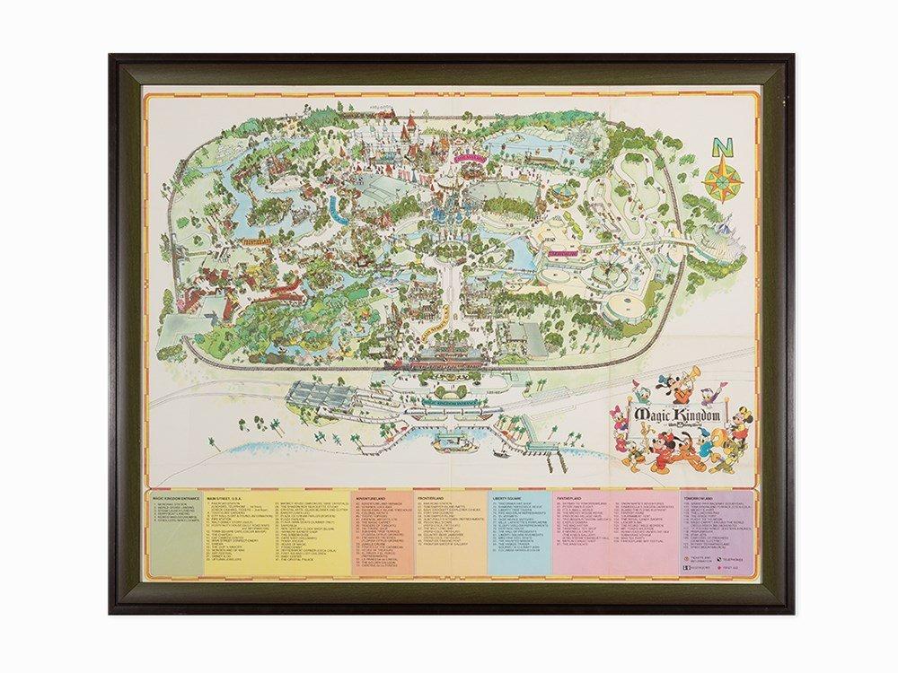 Walt Disney Company, Guide to the Magic Kingdom, Work
