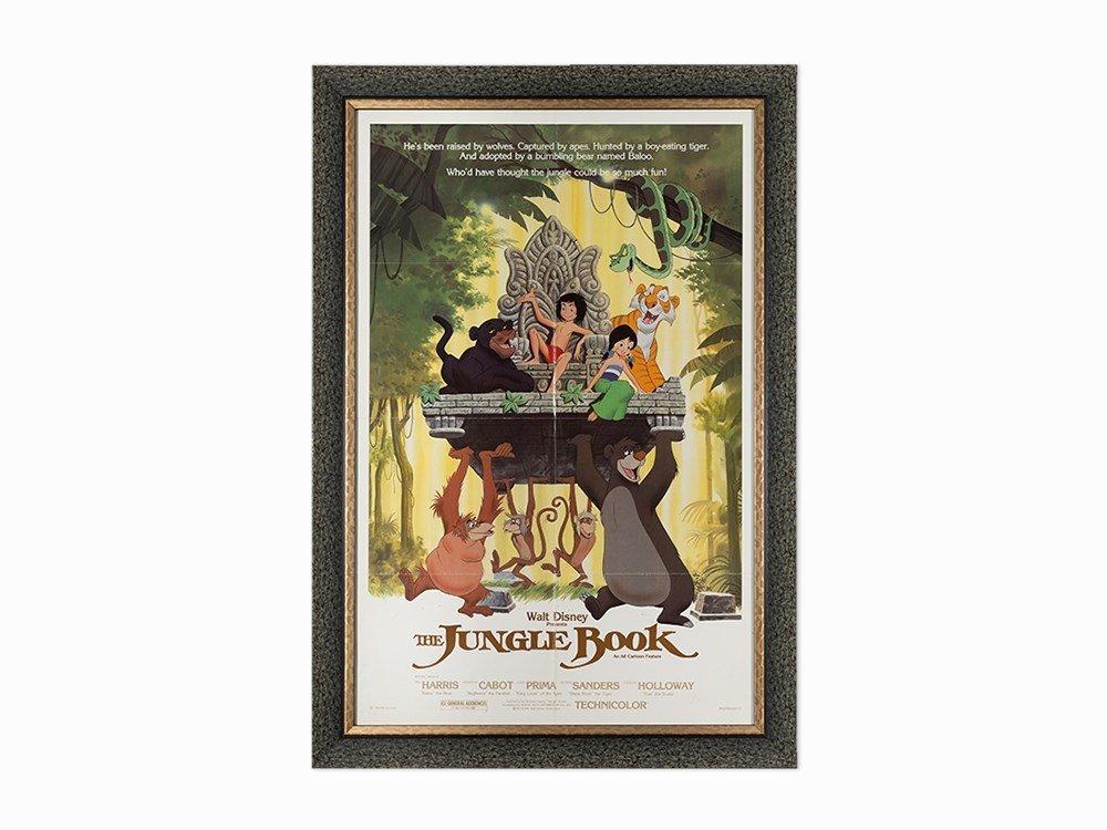 Walt Disney Studios, Jungle Book Movie Poster, c.
