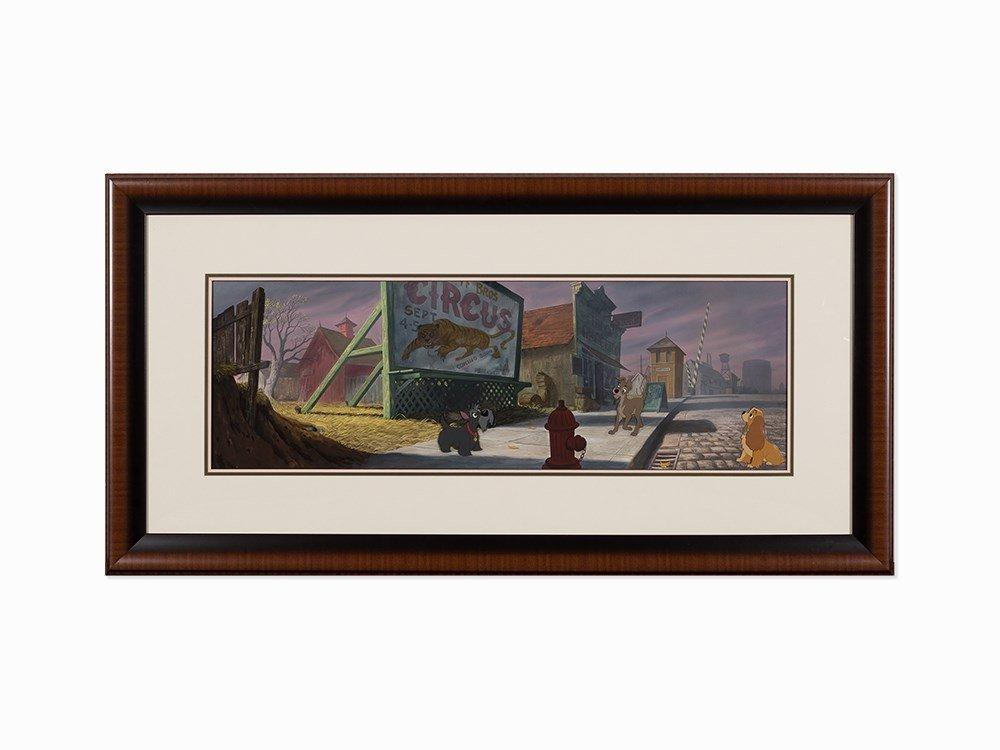 Walt Disney Studios, 'Lady and the Tramp', 1955