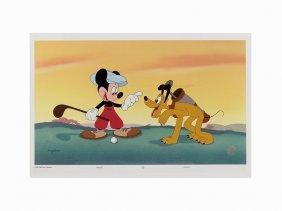 Walt Disney Studios, Mickey Mouse And Pluto, Animation
