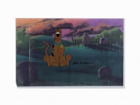 Bob Singer, Scooby-doo, Production Cel, C. 1970's