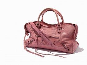Balenciaga, Rose Bonbon City Bag, C.2000's