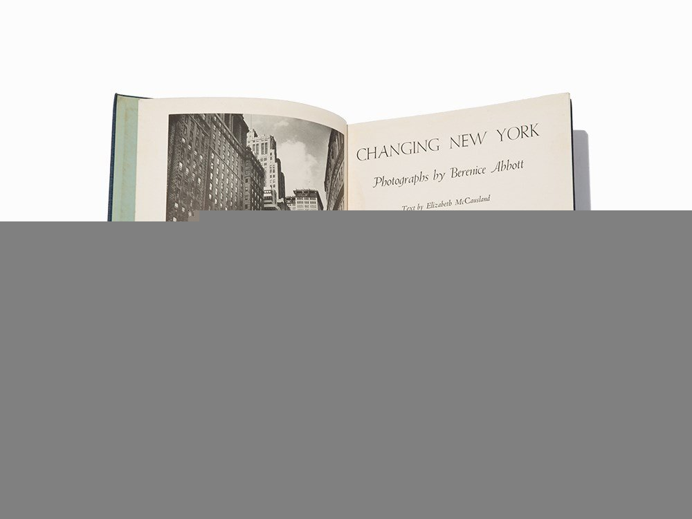 """Berenice Abbott, """"Changing New York"""", 1939, First Ed"""
