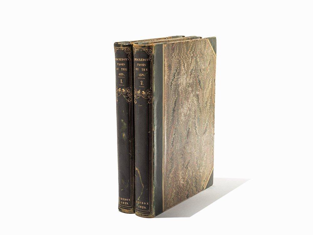 William Brockedon, Passes of the Alps, London, 1828-9