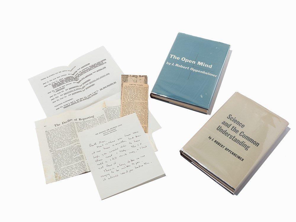 Pair J.R. Oppenheimer 1st Eds, Ruth Tolman Associations