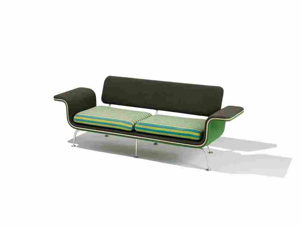 Alexander Girard Sofa, model 66303, USA, ca. 1967