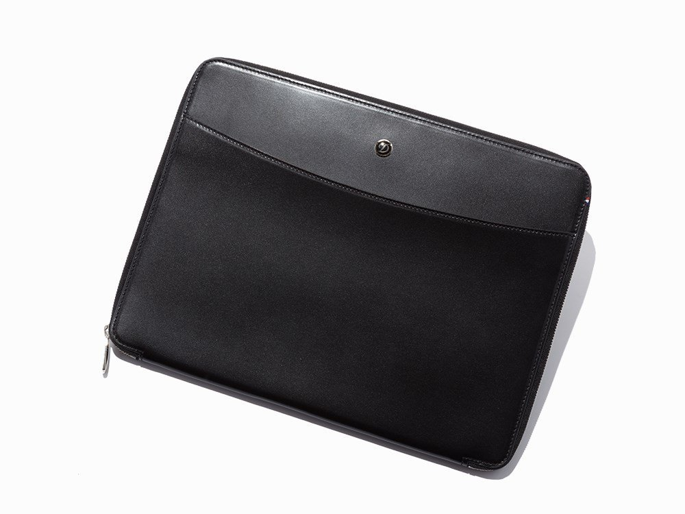 S.T. Dupont, Black Leather Conference Pad