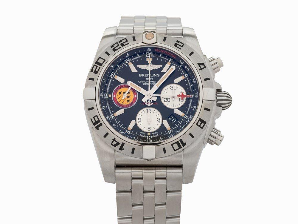 Breitling Chronomat GMT Patrouille Suisse 50th Annv LE