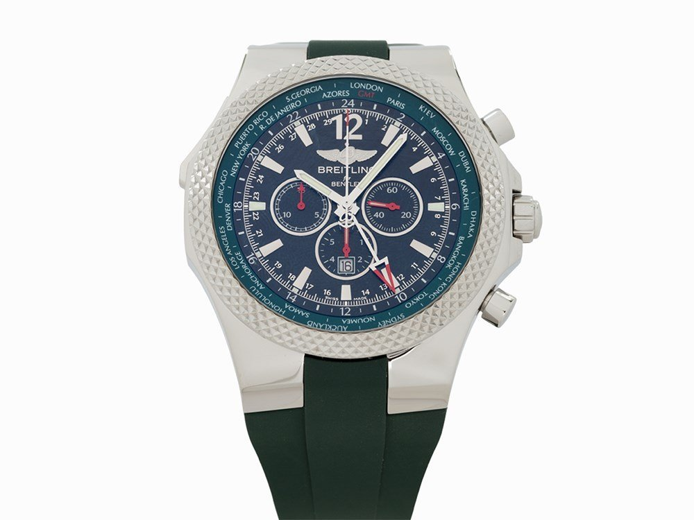 Breitling for Bentley GMT LE 466/1000, Ref. A4736254,