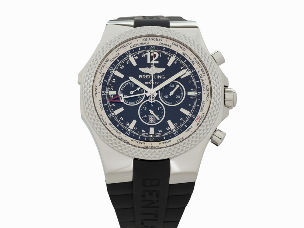 Breitling for Bentley GMT SE, Ref. A4736212/B919,