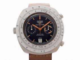Heuer Calculator Chronograph, Ref. 110633, Switzerland,