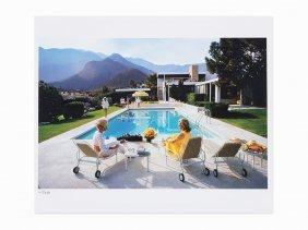 Slim Aarons, 'poolside Glamour', Lambda Print, 1970