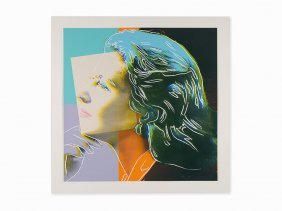 Andy Warhol, 'ingrid Bergman', Screenprint, 1983