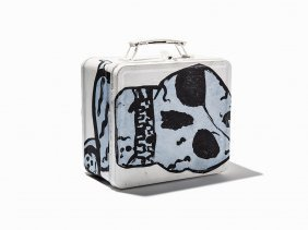 Donald Baechler, 'untitled (painted Lunchbox)', 2008