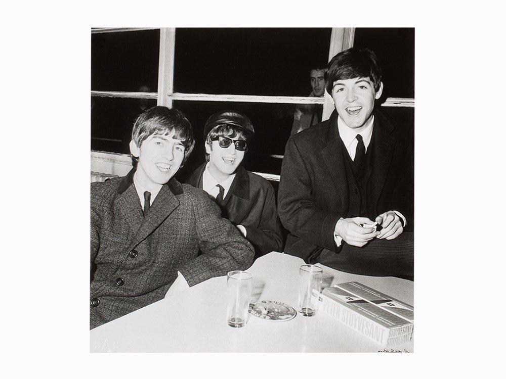 André Sas, Gelatin Silver Print, 'The Beatles', UK,