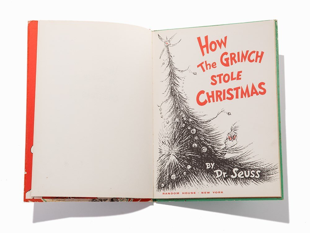 """Dr. Seuss, """"How the Grinch Stole Christmas!"""" NY, 1957"""