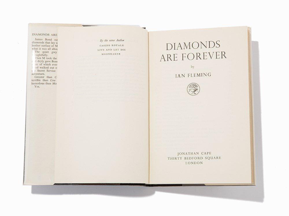 "Ian Fleming, ""Diamonds are Forever"", London, 1956, 1st"