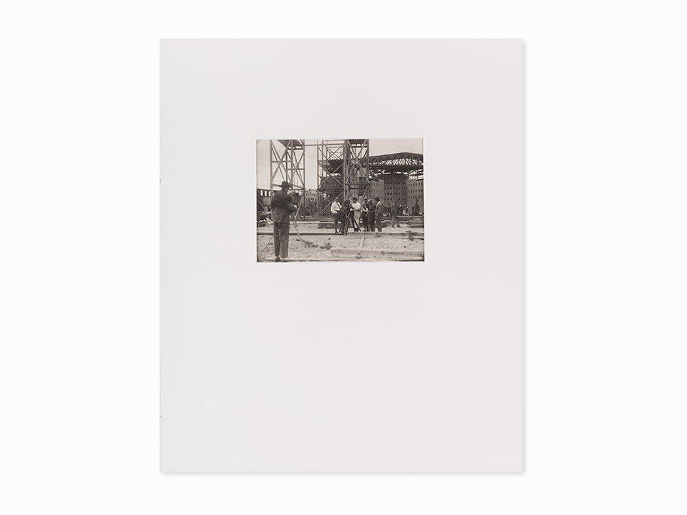 "Production Photo of ""Metropolis"", Gelatin Print, ca."