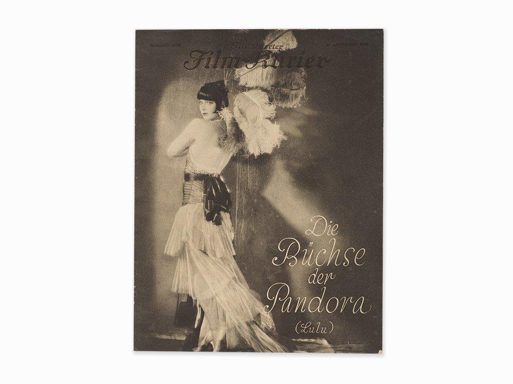 """G.W. Pabst, """"Die Büchse der Pandora"""", Film Program,"""